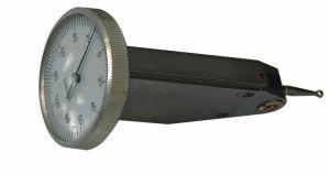 Universal test indicator Ø 40 mm, vertical, range 0,8 mm