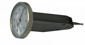 Universal test indicator Ø 30 mm, vertical, range 0,8 mm