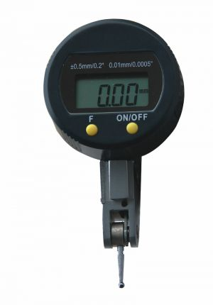 Digital universal test indicator, reading 0.01 mm or 0.0005""