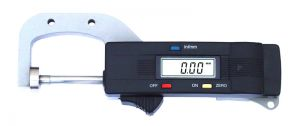 Digital thickness gauge, throat depth 25 mm