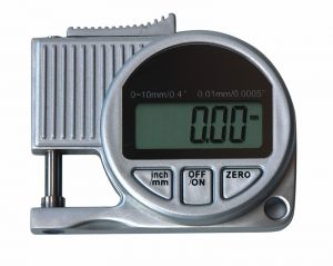 Digital thickness gauge, throat depth 10 mm