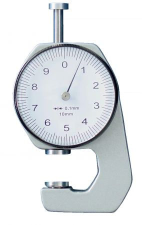 Thickness gauge, throat depth 15 mm, range 20 mm