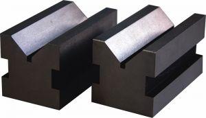 Prismen-Paar, Güte 0 = 0,008 mm, gehärtet, für Welle Ø 5 - 40 mm