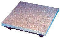 Kontrollplatte aus Grauguss, DIN 876/1, Abmessung 400 x 400 mm