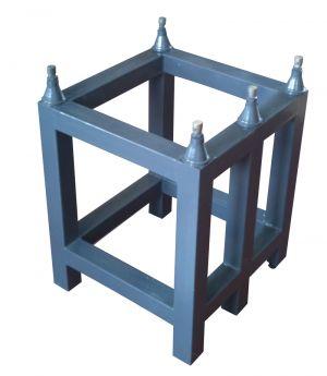 Untergestell für Messplatte aus Granit, Abmessung 630 x 630 x 100 mm