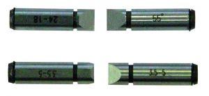 Satz Gewinde-Einsätze mit 55° Winkel, Maße 60 - 3,5 mm