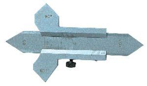 Schweißnahtlehre in Präzisionsausführung, 0 - 20 mm