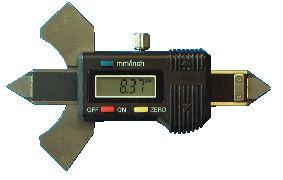 Digital-Schweißnahtlehre, 0 - 20 mm