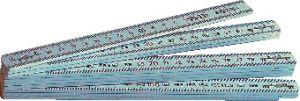 Glasfaser-Gliedermaßstäbe, 2.0 m, weiß