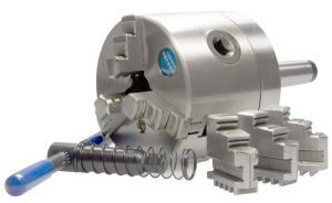 3-Backen-Drehfutter Ø 160 mm, MK3 - fest, BASIC