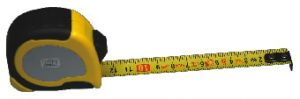 Pocket measuring tape, standard type, 3000 mm