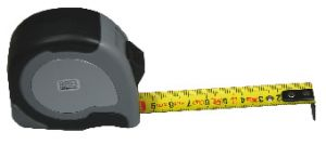 Pocket measuring tape, standard type, 5000 mm
