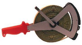 Steel measuring tape, EC-class II, 50 m