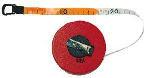 Fibre glas measuring tape, EC-class II, 10 m