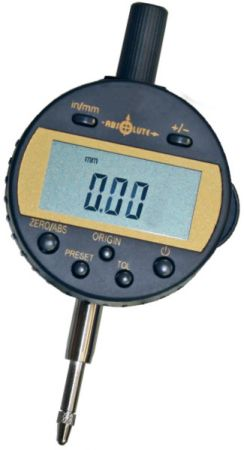 Digital dial indicator, absolute system, range 12,7 mm