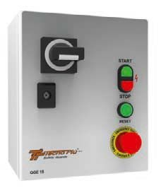 Not-Aus Steuerungseinheiten mit Spannungswarnleuchte (400V)