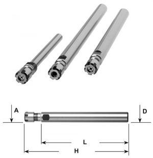 Spannzangenfutter ER - D=16mm / ER 16 / L=160mm
