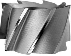 Shell end mills, HSS