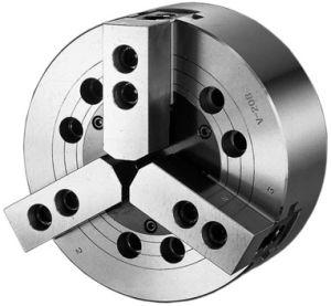 Dreibacken-Kraftspannfutter V-208A6, Ø 210mm