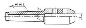Flächenspannfutter WELDON,  MK 4, d= 40mm