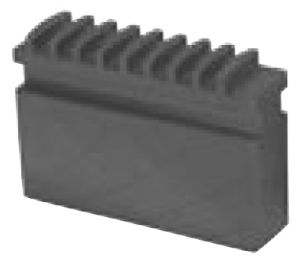 Solid soft jaw MCU for TOS, d=250 mm