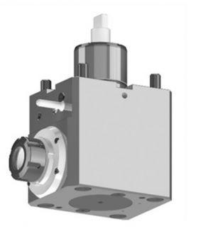 Radial Bohr- und Fräskopf Schaft Ø 60 mm, für MORI SEIKI, ER32