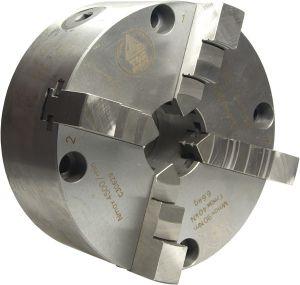 TOS Vierbacken-Drehfutter IUGO Ø=125 mm- Stahlausführung