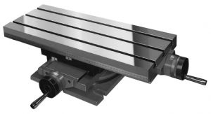 Rotary cross tables, A=800 x 320 mm, 4 T-Nuts