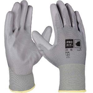 PU-Handschuh grau