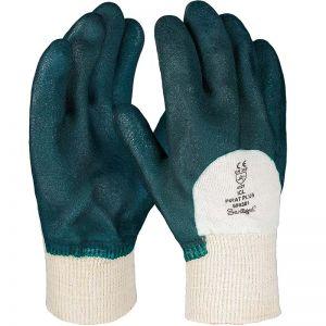 Pirat Vinyl-Handschuh, geraute Oberfläche, Größe 10