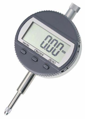 Digital dial indicator, range 12,7 mm or 25 mm