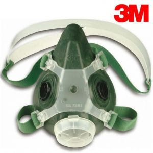 "3Mâ""¢ reusable half face mask respirator"