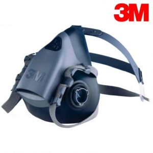 3M reusable half face mask respirator
