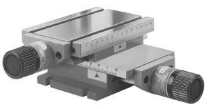 2-Achsen-Kreuztisch MF MINI, Tisch 150 x 100 mm