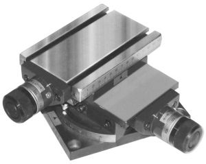Drehbarer-Kreuztisch MG MINI, Tisch 150 x 100 mm
