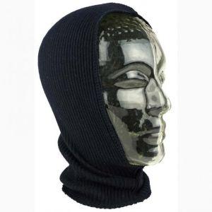 Strickhaube mit Halsschutz