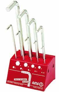 Workshop stand (metric) with metric hexagon keys