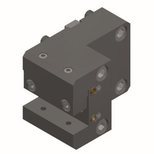 Toolholder with square-longitudinal receptacle BMT65