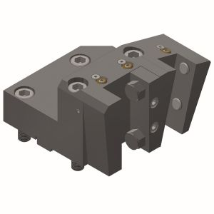 Toolholder with square-multi-receptacle BMT