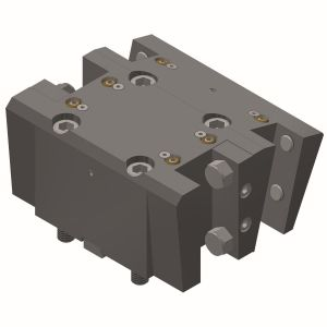 Toolholder with square-multi-receptacle BMT65