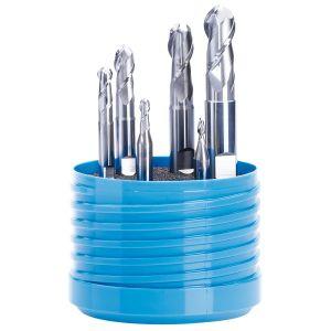 Aluminium Feinstkorn VHM Stirnradiusfräser 2 Schneiden