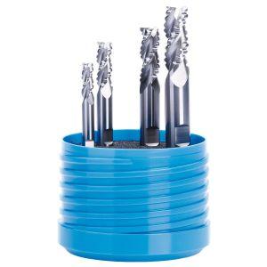 Aluminium Feinstkorn VHM Schruppfräser 3 Schneiden