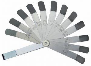 Feeler gauges for motor repairs