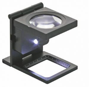 Präzisions-Fadenzähler mit LED-Beleuchtung