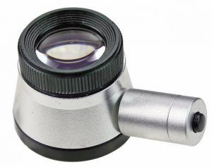 Präzisions-Messlupe mit Skalierung und LED-Beleuchtung