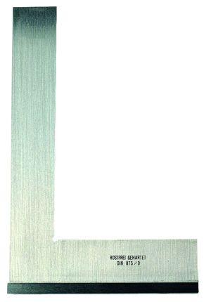 50 x 40 mm | Präzisions-Kontrollwinkel, Inox, DIN 875/0