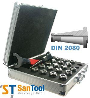 Spannzangensatz mit SZ-Futter DIN 2080 ISO40