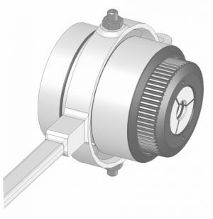 Lever-Operated collet chuck for Ø 3-42 mm