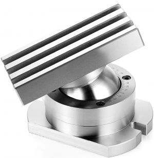 200x140 mm | Dreh- und schwenkbarer Spanntisch