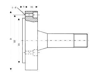 Flansche mit 5C-Aufnahme